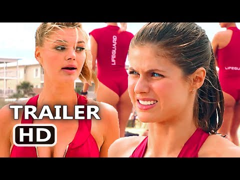 Generate BAYWATCH 'Suit Rides Up Our Asses' TV Spot Trailer (2017) Alexandra Daddario Comedy Movie HD Screenshots