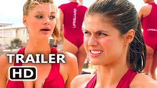 "BAYWATCH ""Suit Rides Up Our Asses"" TV Spot Trailer (2017) Alexandra Daddario Comedy Movie HD"