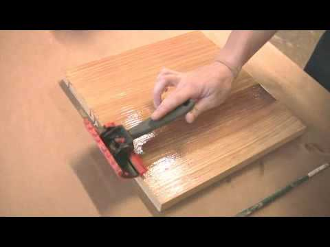 How to Make a Faux Wood Grain Finish