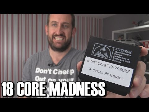Intel i9 7980XE 18 Core 36 Thread HEDT CPU Review