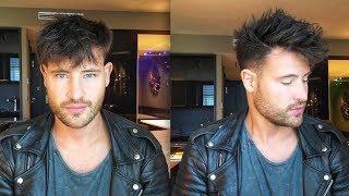 Haarstyling Tipps für Männer so style ich den Fade Cut