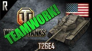 ► World of Tanks - Teamwork: T26E4 SuperPershing [14 kills, 8100 dmg]