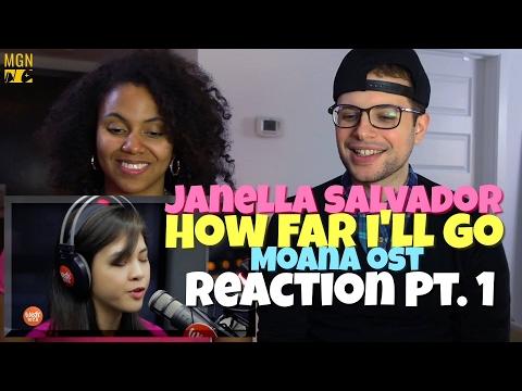 Janella Salvador - How Far I'll Go (Moana OST) Reaction Pt.1