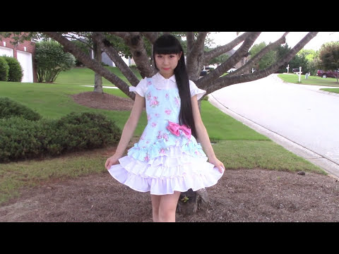 DIY Easy Victorian Inspired Classic Dress + Underneath Ruffle Skirt | Lolita Inspired Fashion DIY