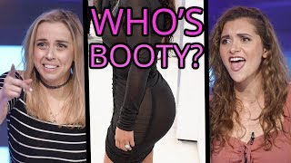 Guess The Celebs Butt?! Violet Benson vs Wes Stromberg vs Alyson Stoner| Tap That Awesome App