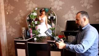 Одевание невесты + за кадром. FMvideostudio