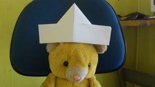 Cara Membuat Origami Topi Sederhana Sekali | Origami Topi