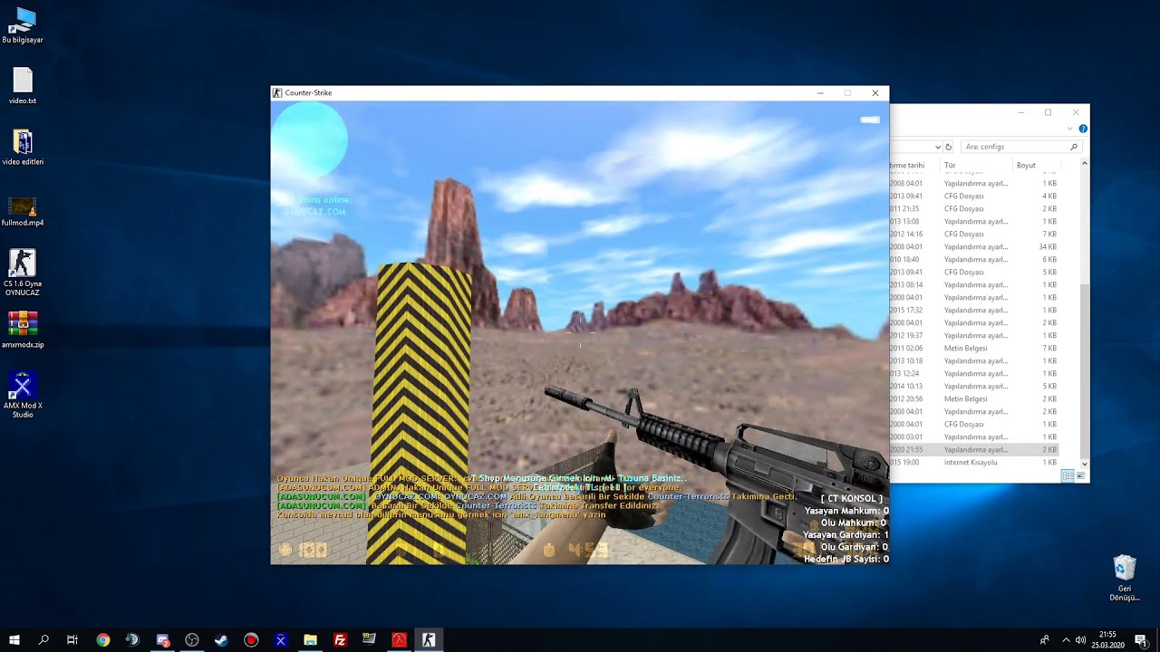 Counter Strike 1.6 || Full Mod Server Kurma 2020 || Pluginleri Halledelim || Part 1