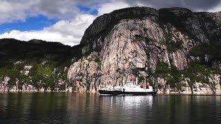 видео Норвежские фьорды