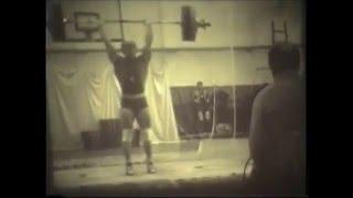 187,5 кг толчок в борьбе Г.Зобач 1978г.