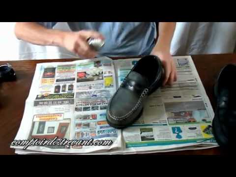 comment entretenir ses chaussures en daim ou nubuck vid o dailymotion youtube. Black Bedroom Furniture Sets. Home Design Ideas