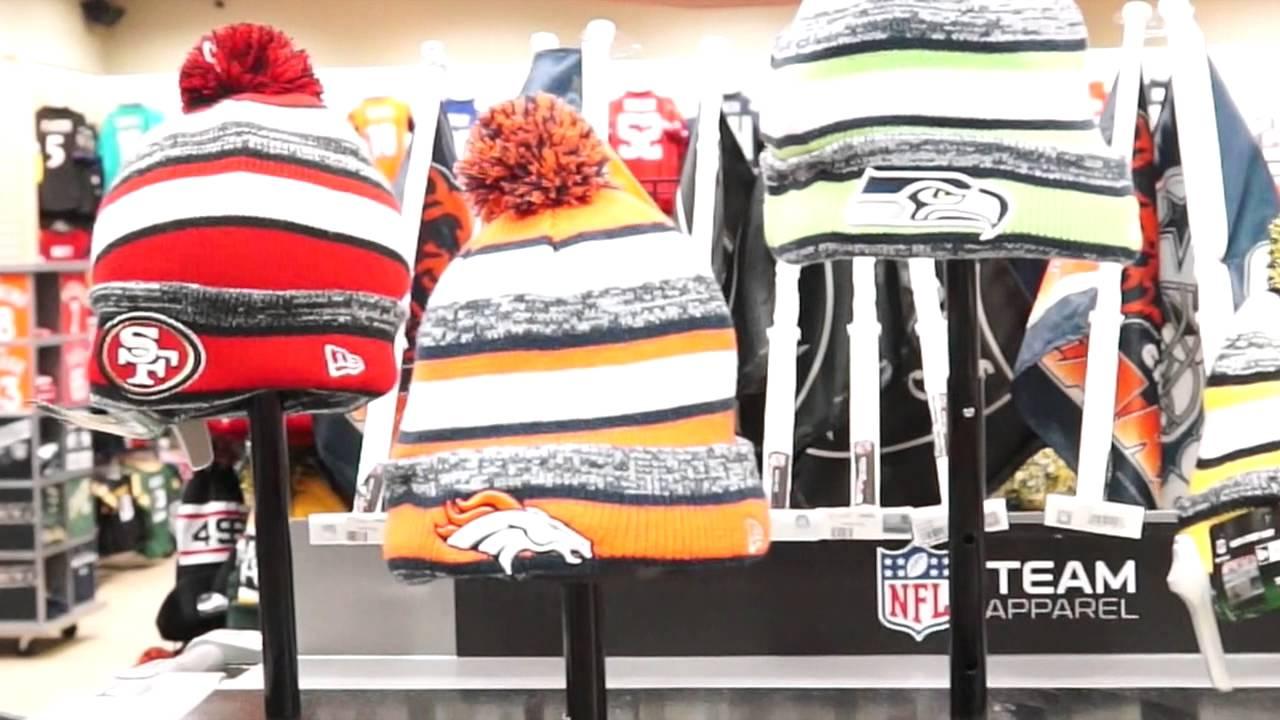 a87205db002 NFL 2014 New Era Sideline Sport Knit Hat Fanzz - YouTube