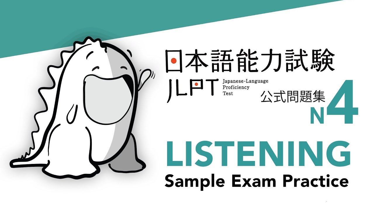 JLPT N4 LISTENING Sample Exam with Answers