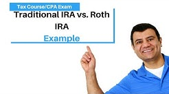 Deduction for Individual Retirement Account | Roth IRA | Income Tax Course | TCJA 2017