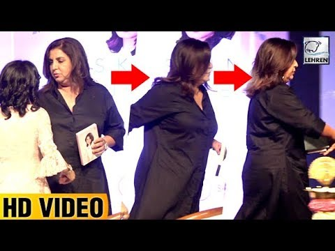 Farah Khan WALKS OUT Of An Event To Avoid Questions On Sajid Khan | LehrenTV