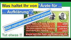 """Was denkt Ihr über """"Ärzte für Aufklärung""""? Eure Meinung, nur DARÜBER und NICHT über Dr. Schiffmann!!"""