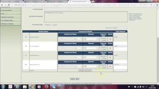 PIA Making bulk payment as expenditure using UI customization