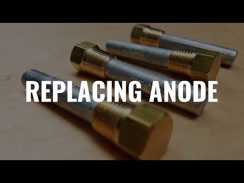How to replace the anode on an yacht/sail boat engine.