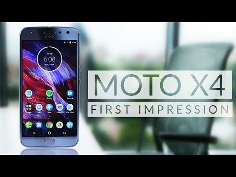 Moto X4: Excellent Camera, Mind blowing Speaker with IP68 Water Resistant