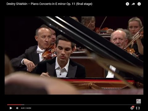 Dmitry Shishkin – Piano Concerto in E minor Op. 11 (final stage  of the Chopin Competition 2015)
