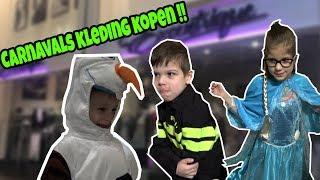 CARNAVALS KLEDING KOPEN MET DE KIDS !! - KOETLIFE VLOG #638