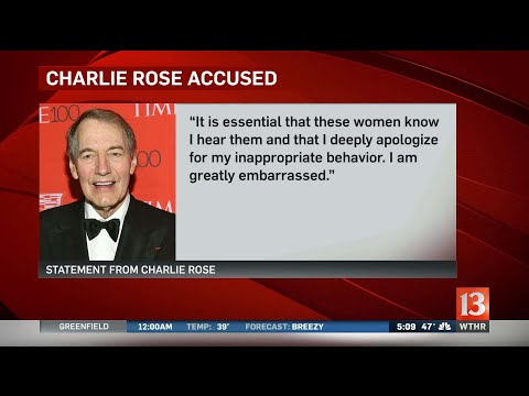 Eight women say Charlie Rose s charlie rose