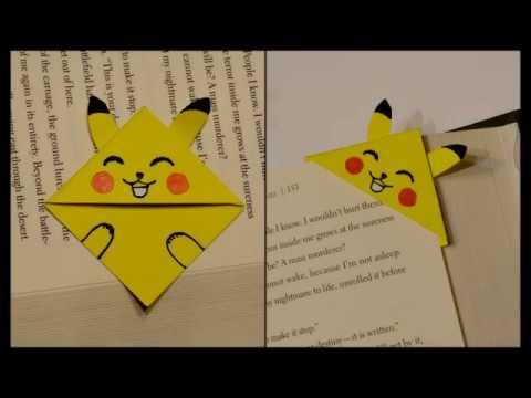 Easy Togepi DIY - Pokemon Bookmark - Origami inspired - Pokemon Go ... | 360x480