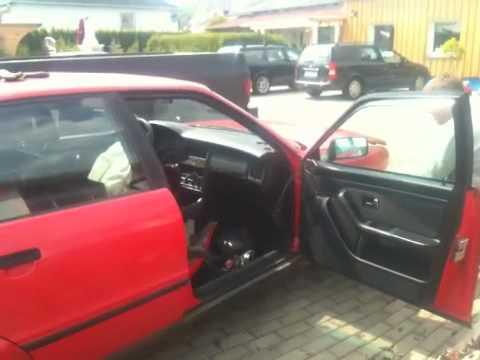 Audi 80 airbagzündung die zweite