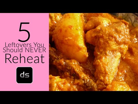 5 leftovers you should never reheat youtube - Foods never reheat ...