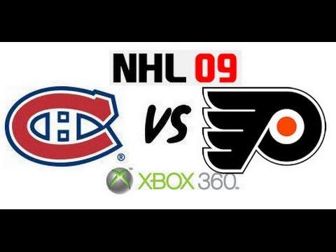 NHL 09 - Montreal Canadiens vs Philadelphia Flyers