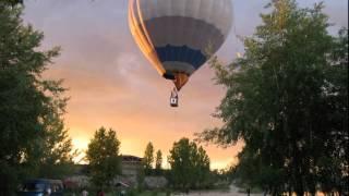 На большом воздушном шаре (Елка)