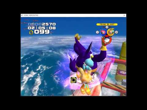 Sonic Heroes (Extra Missions) - Egg Fleet (Team Rose)