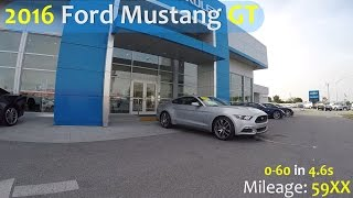 Bill Buck Video Library : 2016 Mustang Fastback GT : S095TA