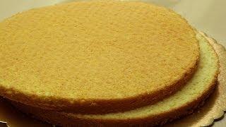 Easy Sponge Cake Recipe   Simple Vanilla Cake