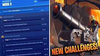 How To Complete ALL WEEK 2 CHALLENGES in SEASON 8 - Fortnite Battle Royale