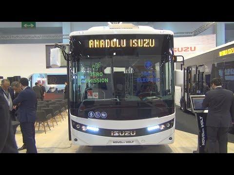 Isuzu Novociti Volt Electric Bus (2020) Exterior And Interior