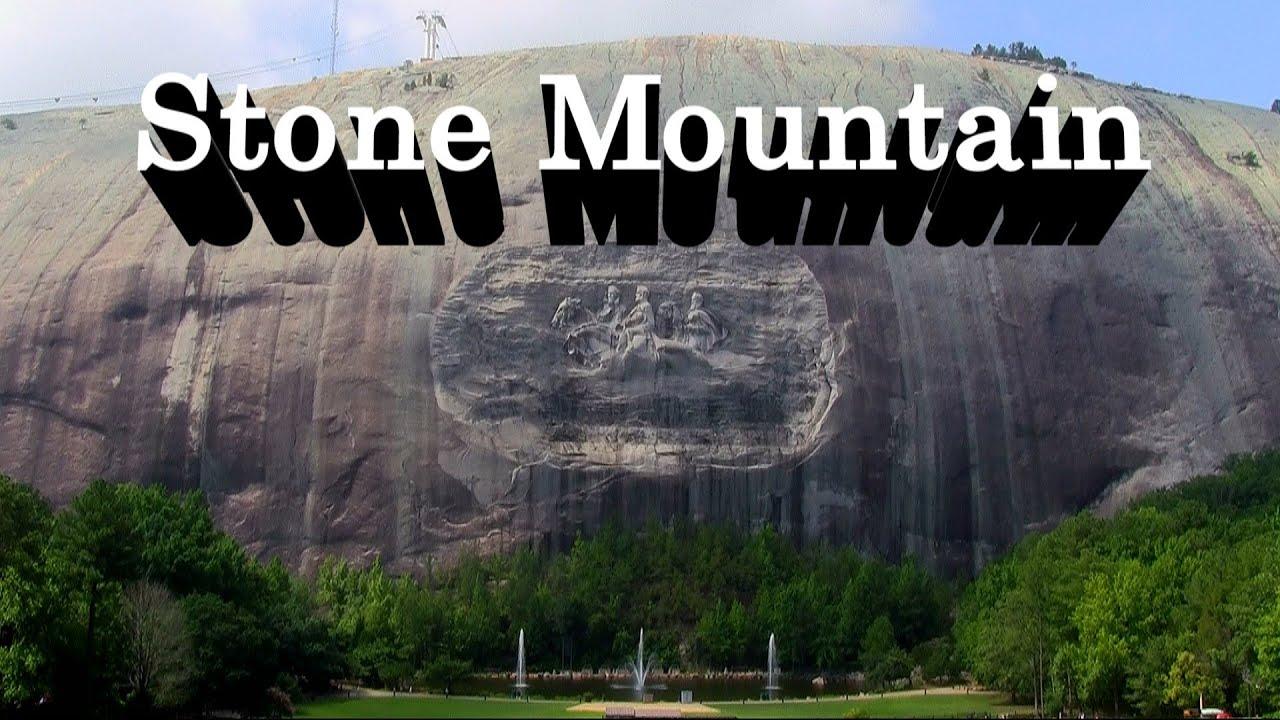 Stone mountain carving park near atlanta