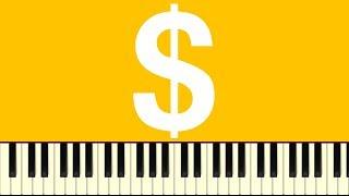 THE DEMONETIZED RAG - Piano Tutorial