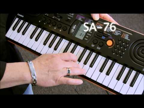 Casio SA76 Mini Keyboard - Casio Select Workshop