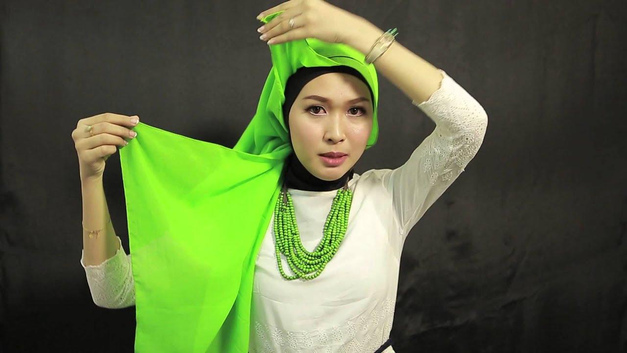 Tutorial Hijab By Ninda Laili Putri Finalis Sunsilk Hijab Hunt