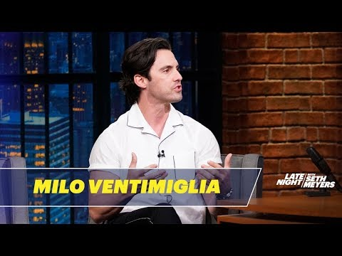 Milo Ventimiglia Is a Motorcycle Rain Man