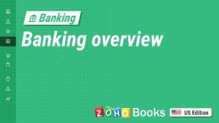 Banking Overview   Zoho Books