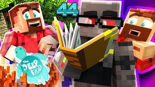 WELCOME TO THE DEEP END MINECRAFT SMP! He's the smart one now?? Twi...