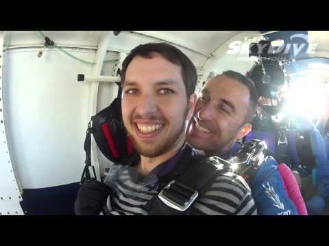 Ross Wood's Tandem skydive!