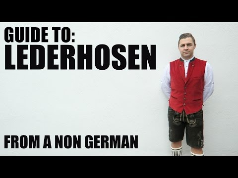 How to wear Lederhosen