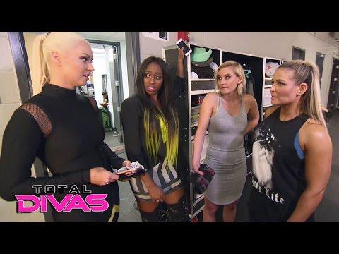 The Total Divas get brutally honest about the WWE Draft: Total Divas, April 5, 2017
