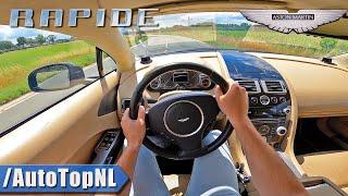 ASTON MARTIN RAPIDE 5.9 V12 POV Test Drive by AutoTopNL видео