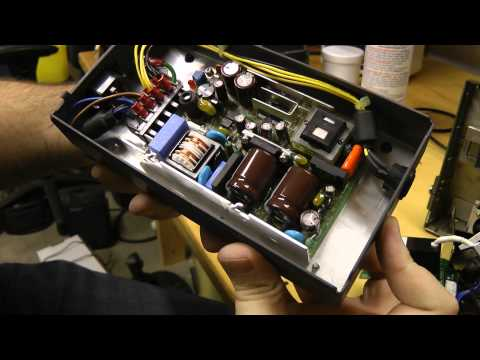 Fitel fiber optic fusion splicer - Teardown and repair