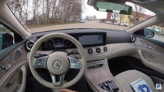 2019 MERCEDES-BENZ CLS 350D 4MATIC COUPÉ [POV] 4K