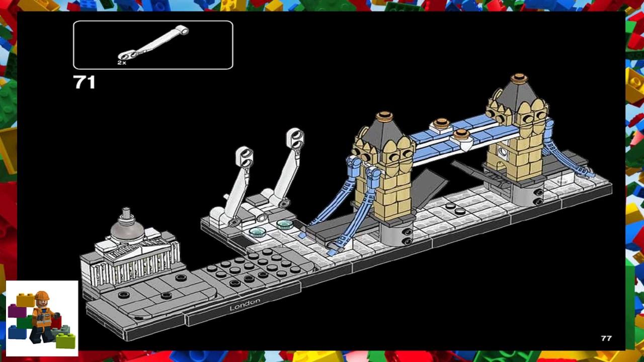 Lego Instructions Lego Architecture 21034 London Youtube